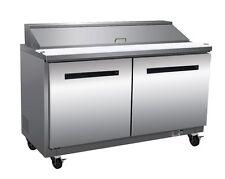 Maxximum Mxcr48S, 12-Cu.Ft. Refrigerated Counter, Sandwich Top
