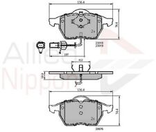 Allied Nippon Front Brake Pad Set Fits Audi VW USN747