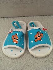Official Disney Store Nemo Sandals Size 5 18-24 Months Infant Baby Summer Girls