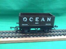 "HORNBY R.009 ""OCEAN"" 7-PLANK OPEN COAL WAGON IN V.G.C."