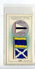 (JD1245-100)  INTERNATIONAL TOB CO,INTER CODE OF SIGNALS,DM,1934,#50