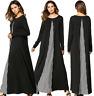 Islamic Women Muslim Long Dress Abaya Jilbab Dubai Kaftan Cocktail Maxi Robe New