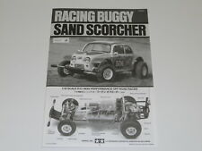 NEW TAMIYA SAND SCORCHER Manual BUGGY CHAMP 1/10 TA16