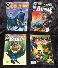 Lot of 4 Detective Comics Featuring Batman #600, 656, 658, 660 NM to NM/MT