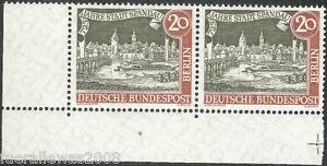 Berlin MiNr. 159 y III EUR ** 725 Jahre Spandau Pk + Plattenfehler Mauerschatten