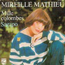 JUKEBOX SINGLE 45 MIREILLE MATHIEU MILLE COLOMBES
