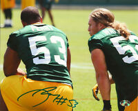 PACKERS Nick Perry signed 8x10 photo w/ Clay Matthews COA HOLO AUTO Autographed
