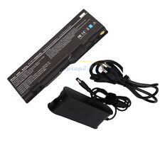 New AC adapter + 6 cells Laptop Battery  for Dell Inspiron 6000 9200 9300 9400