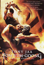 Poster affiche Tony Jaa Tom Yum Goong final fight 88 x 60 cm éd. Thaïlandaise