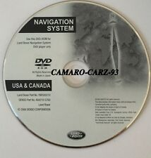 2005 2006 2007 2008 Land Rover LR3 SE & HSE Sport Navigation DVD Map US + Canada