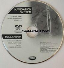 2005 2006 2007 2008 Land Rover LR3 SE & HSE Sport Navigation DVD NAV MAPS of USA