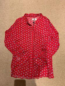 Hush Red Print Shirt 10