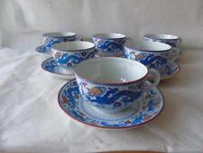 Ironstone British Date-Lined Ceramic Cups & Saucers