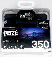 Petzl 350 Actik Core Rechargeable Headlamp  NEW