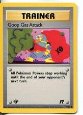 Pokemon Team Rocket 1st Edition Common Card #78/82 Goop Gas Attack