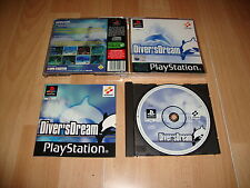 DIVER'S DREAM DE KONAMI PARA LA SONY PLAY STATION 1 PS1 USADO COMPLETO