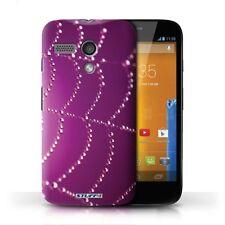 Housses et coques anti-chocs Motorola Moto G en toile pour téléphone mobile et assistant personnel (PDA)