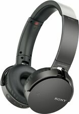 Sony XB650BT Wireless On-Ear Bluetooth Headphones, NFC, Powerful Sound, Mic