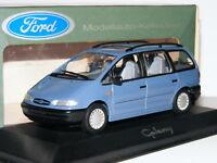 Minichamps 1995 Ford Galaxy Metallic Blue Dealer Edition 1/43
