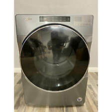 Whirlpool 7.4 Cu. Ft. Chrome Shadow Stackable Electric Dryer with Steam