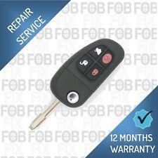 Jaguar 4 Button X Type S Type Jag Remote Flip Key Alarm Fob Repair Service Fix
