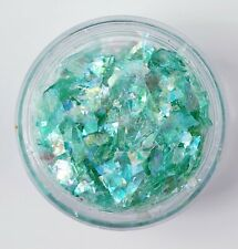 ICE MYLAR 2G NAIL ART CRACKED GLITTER FOR ACRYLIC AND GEL - Green