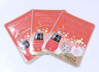 3pcs Facial Skin Care Coenzyme Q10  Mask Sheet Pack Essence Korean Cosmetics