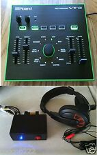 PROFESSIONAL ROLAND  VT-3 VOICE CHANGER + A TELEPHONE INTERFACE + A HEADSET