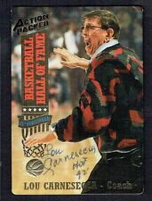 Lou Carnesecca signed autograph auto Action Packed Basketball Card