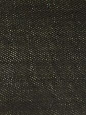 SPORTING KEVLAR SELVAGE DENIM FABRIC - Black - BY THE YARD SPORTS CLOTHING GEAR