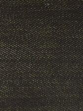 SPORTING KEVLAR SELVAGE DENIM FABRIC - Black - BY THE YARD SPORTS CLOTHING GEAR
