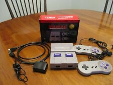 Super Mini Sn-02 8 Bit Nintendo entertainment system knock off with 821 Games.