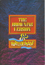 Theartre THE BROWNING VERSION & HARLEQUINADE Souvenir Programme Paul Eddington