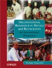 ORGANIZATIONAL BEHAVIOUR IN HOTELS AND RESTAURANTS - NEW PAPERBACK BOOK