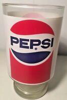 1980's Drinking Glass Pepsi Cola Jumbo Stranger Things Vintage Large Tumbler