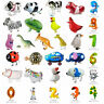 Funny Foil Pet Animals Walking/Animal Number Balloon Christmas Kids Party Decor