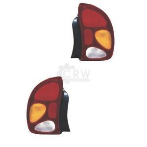 Rear Light Set Daewoo Lanos ( Klat ) Year 05.97- Ell