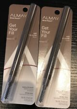 Lot 2 Almay Get Your Fill Brow Pencil #802 Brunette New Sealed