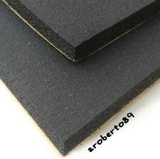 """2 x Hojas de espuma de neopreno Negro Auto Adhesivo 12"""" X 9"""""""
