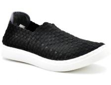 Tanggo6228Men'sLightweightBreathableSlip-OnsHandmadeShoesCasualSneakers(black)