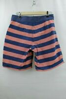 Vineyard Vines Swim Trunks Shorts size 30 Pink Blue Board Shorts striped