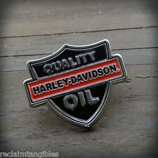 Harley Davidson Authentic Pin - Quality Oil  - Metal Insignia
