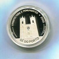 PORTUGAL 10 EUROS    PLATA 2005  VI SERIE IBEROAMERICANA  PROOF NUEVA