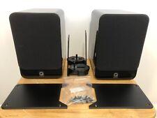 Speakers Q Acoustics 2010 Black 6 Ohm 2-Way Home Cinema Theatre Stereo 75W HiFi