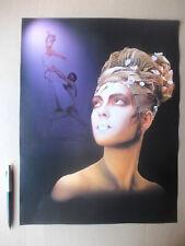 BODYPAINT VISAGIE KRYOLAN 2001, planche /poster grand/ big 32x42 cm