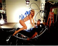 HEATHER MORRIS & JOHN STAMOS signed autographed GLEE BRITTANY & CARL photo (1)