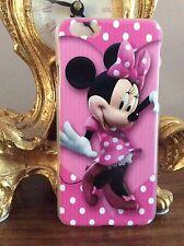 IPhone 6 6s Rosa Disney Mickey Minnie Mouse Funda De Teléfono Protectora Dura Regalo De Navidad