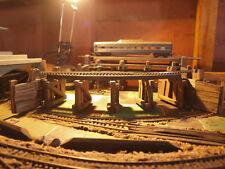 Railway Trestle Bridge FULL CURVE OO/HO Train Layout (Hornby, Atlas etc)