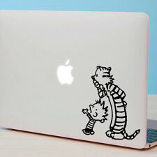 "CALVIN AND HOBBES Apple MacBook Decal Sticker fits 11"" 12"" 13"" 15"" and 17""models"
