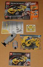 Lego Racers 8183 TRACK TURBO RC Fernsteuerung 100% KOMPLETT BA OVP neue Sticker!